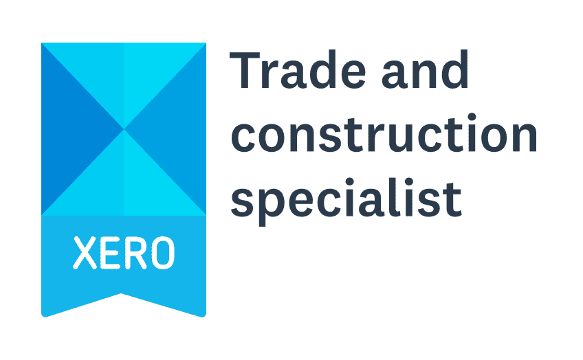 Xero Trade and Construction Specialist Badge