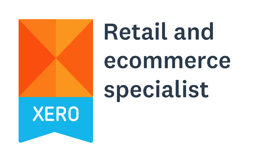 Xero Retail and ecommerce specialist badge