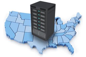 Web hosting around the US