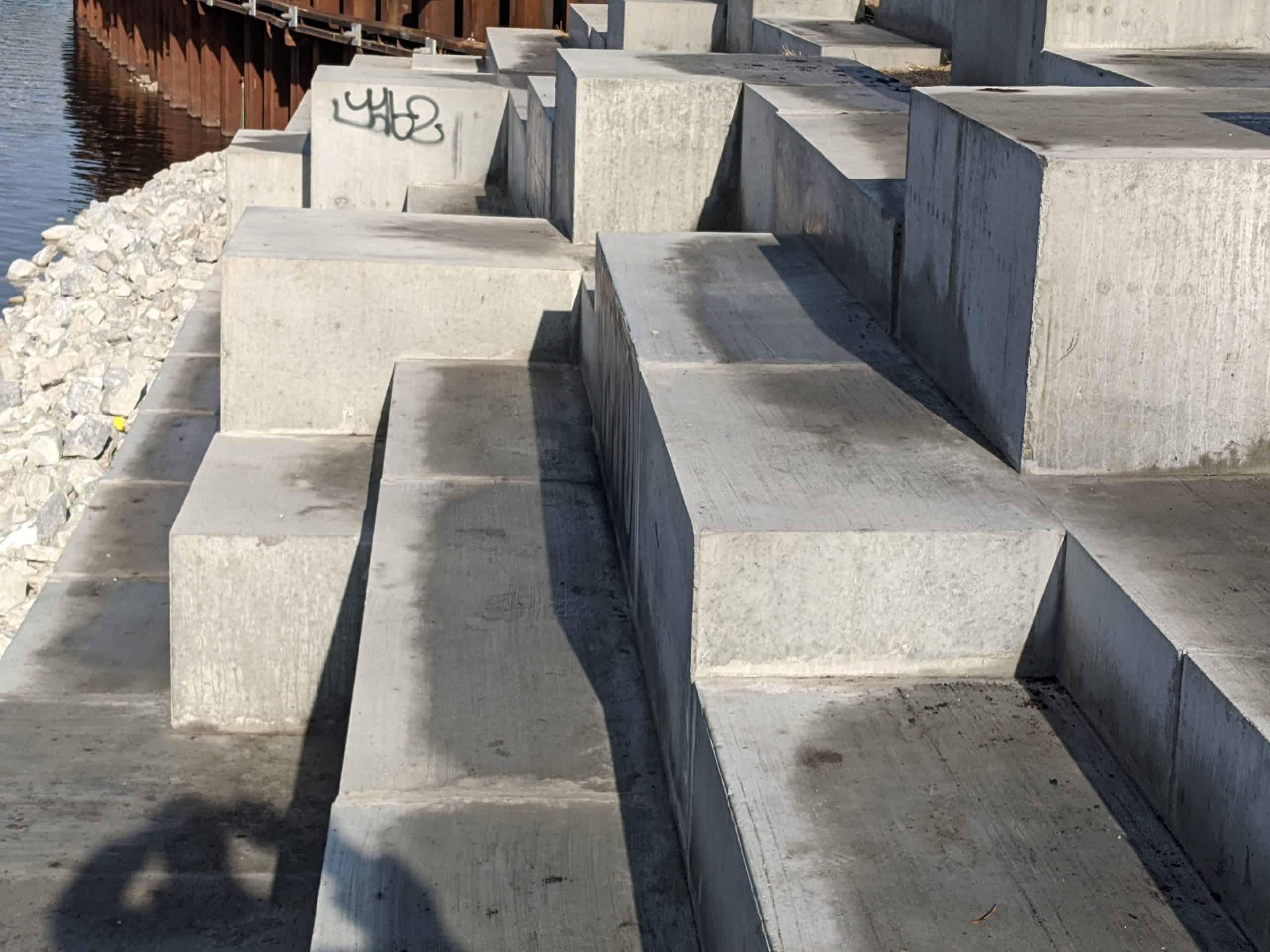 Bin Block Terrace by Wieser Concrete