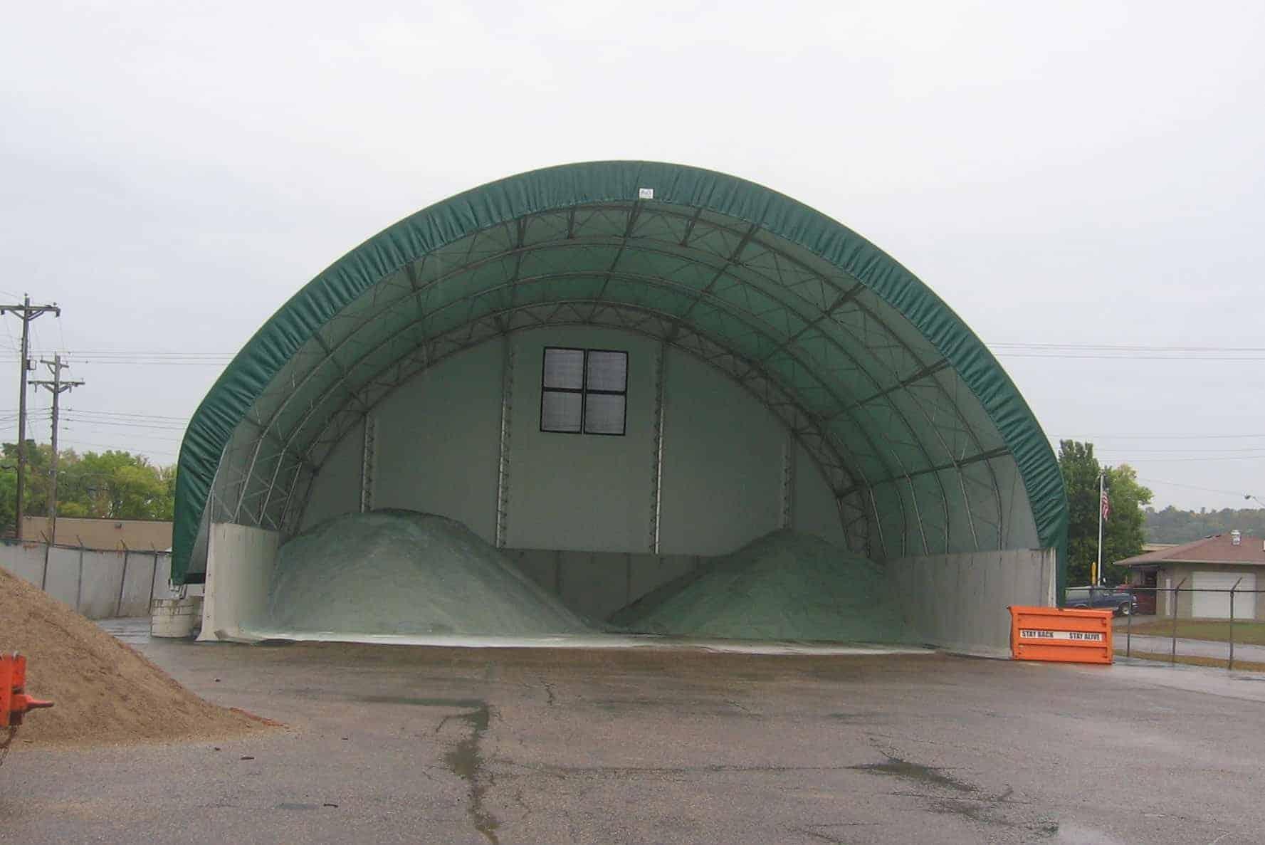 City of St Paul Park Storage Precast Concrete Bunker