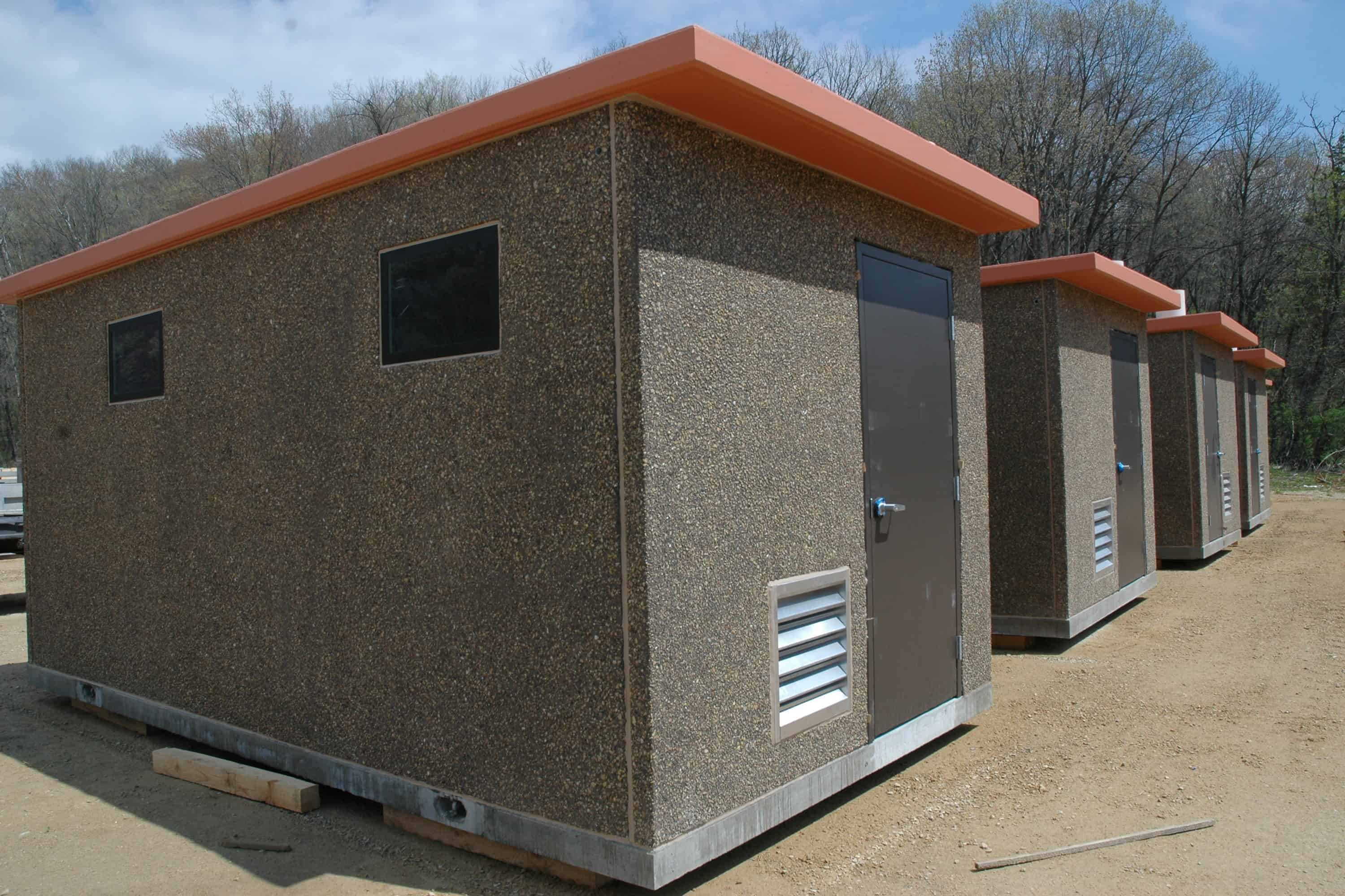 Fort Hunter Liggett Latrine Precast Concrete Building