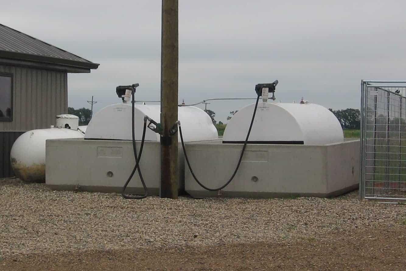 Mauch ND Fuel Precast Concrete Fuel Containment Vessel