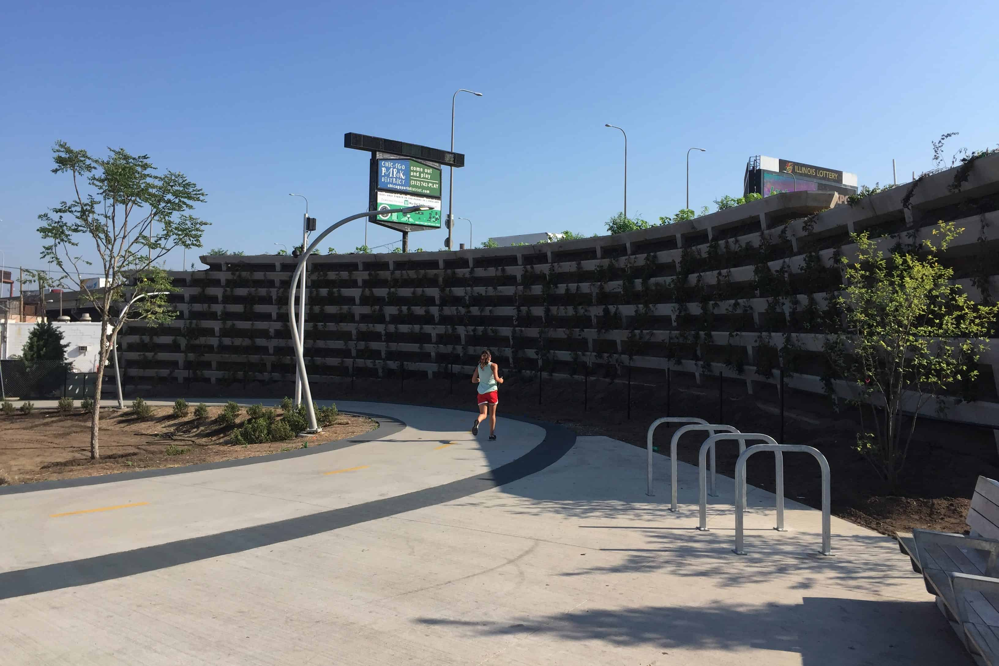Evergreen Noise Wall Precast Concrete Wieser