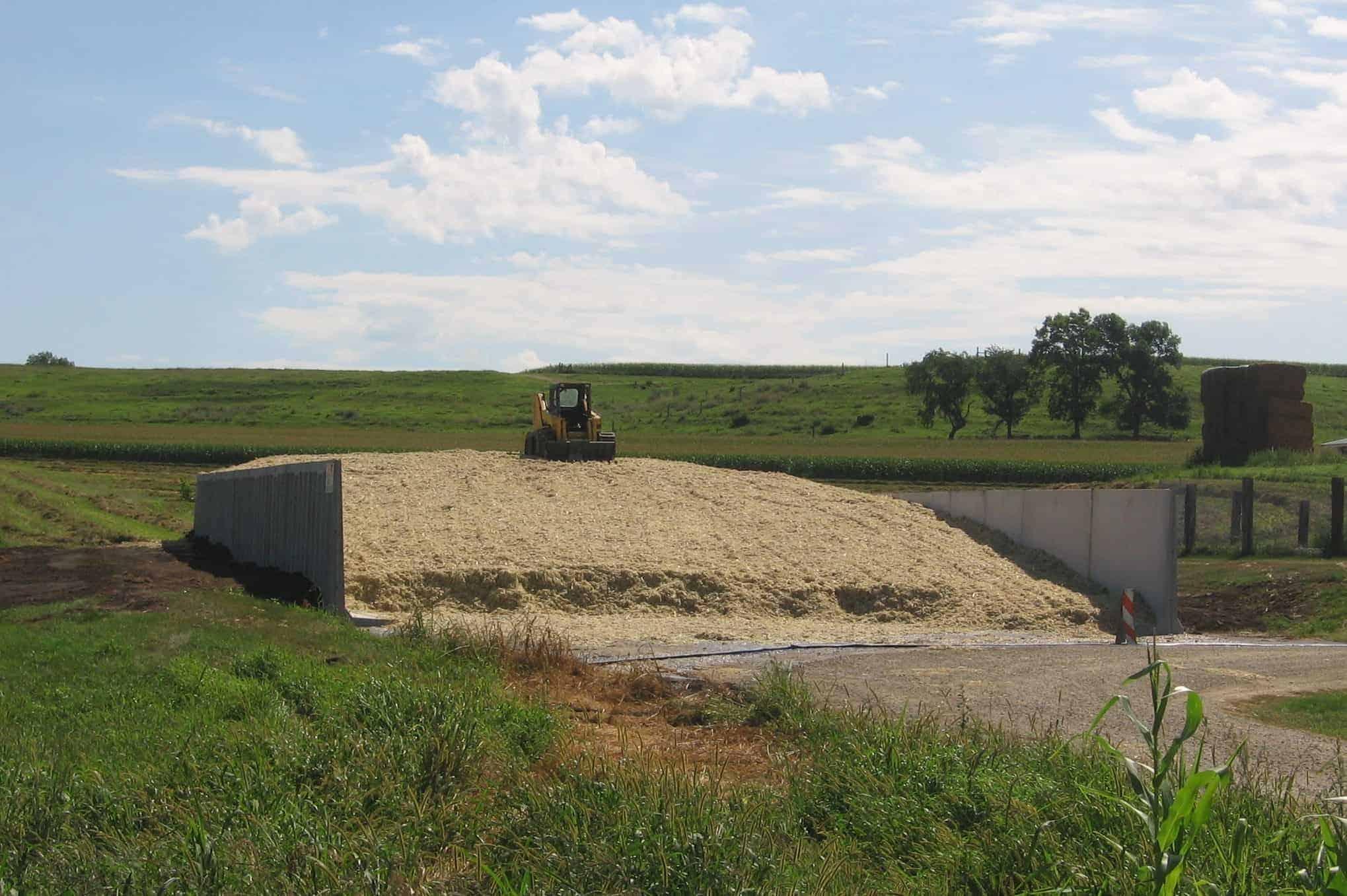 Precast Concrete Bunker Silo Single