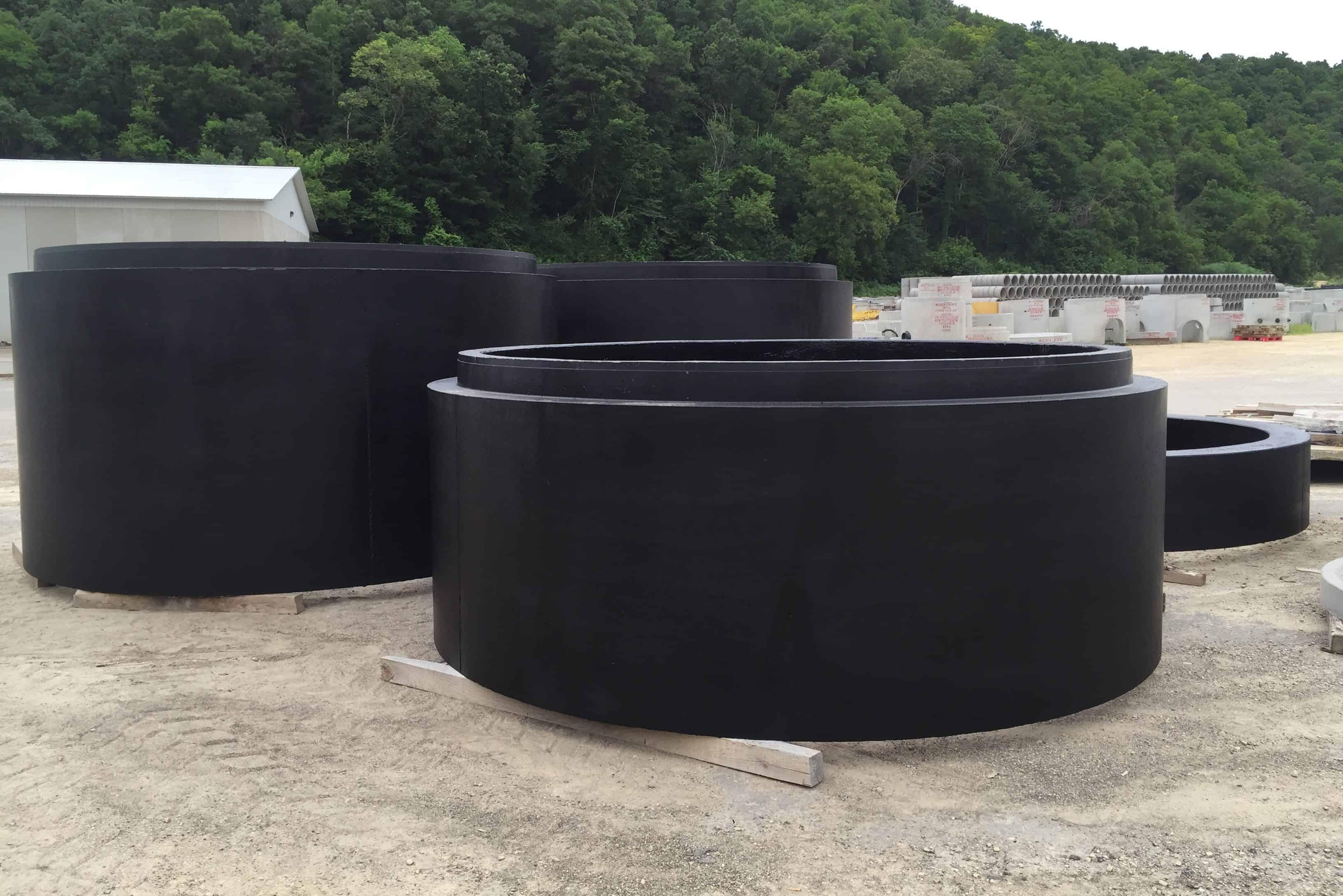 Precast Concrete Coated Manholes