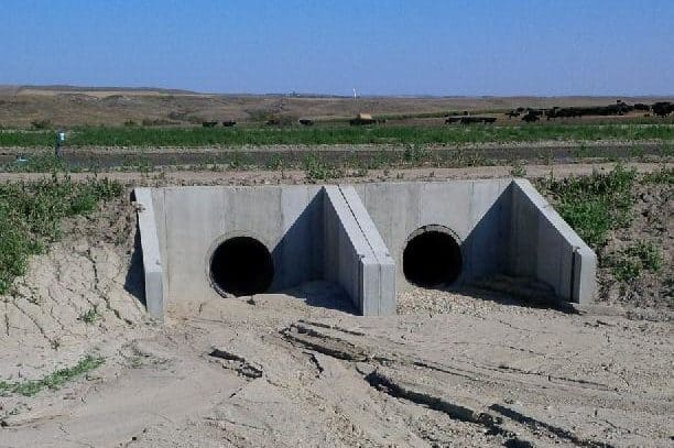 Precast Concrete Headwall Ellingson ND