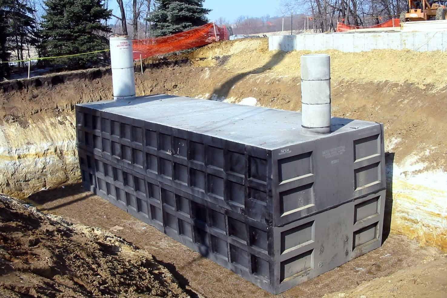 Precast Concrete Metro Fire Protection Water Storage Tank