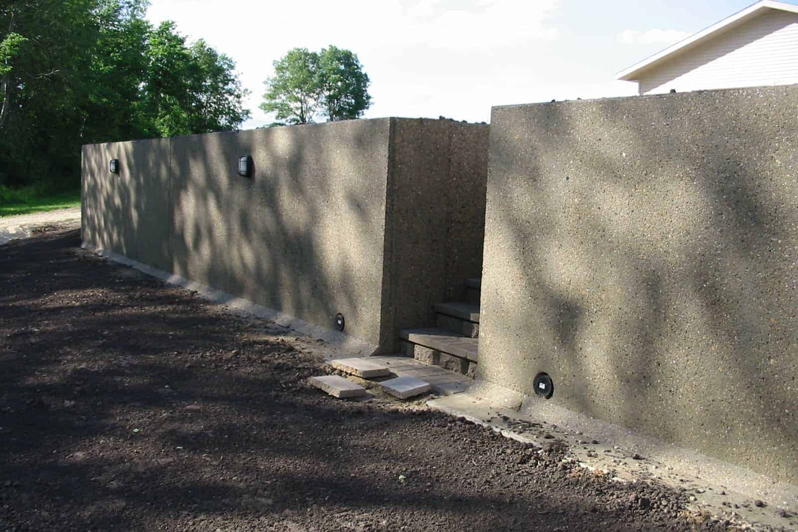 Precast Concrete Retaining Wall L Panel
