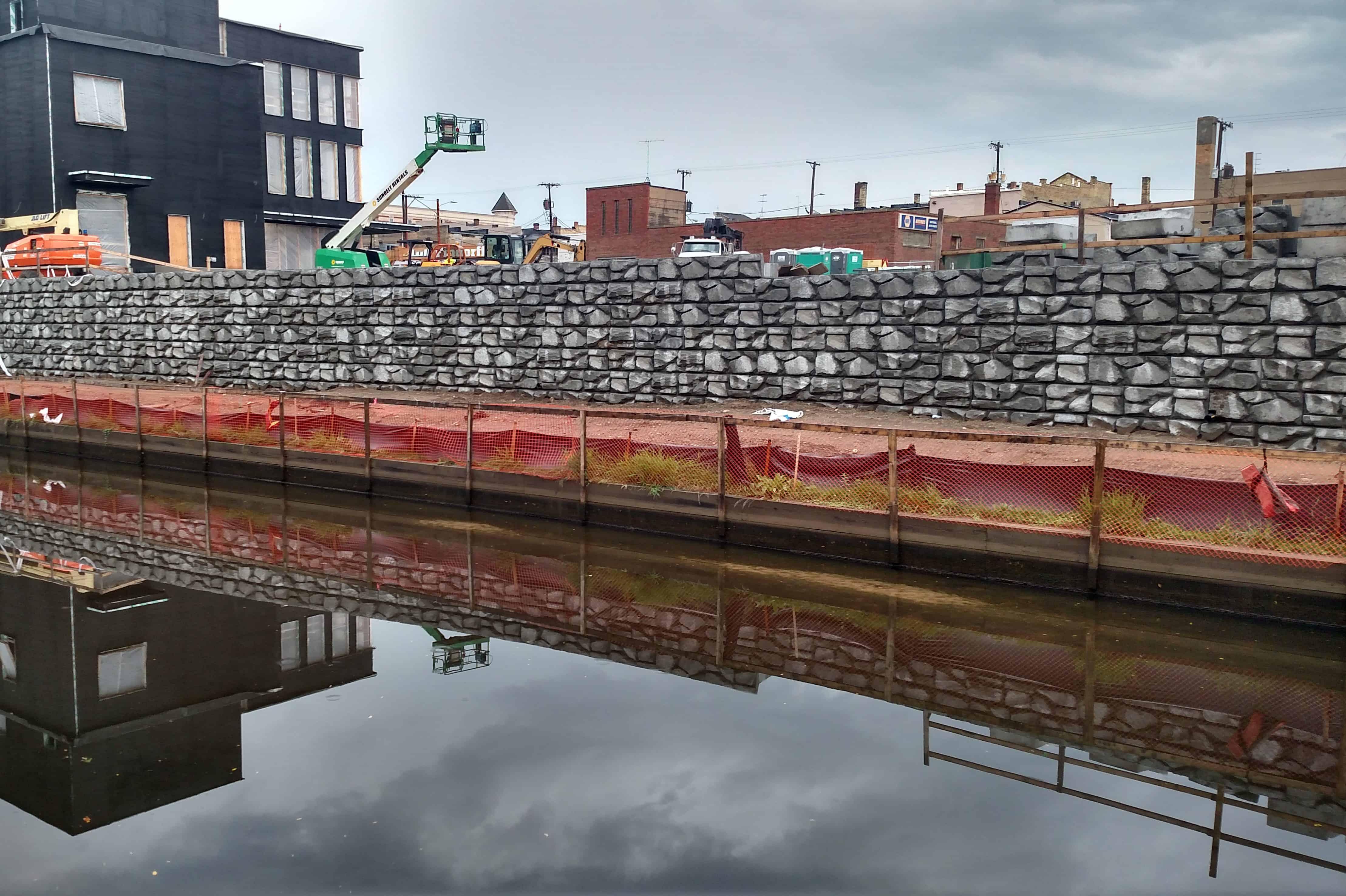 Precast Concrete Retaining Wall London Boulder Portage
