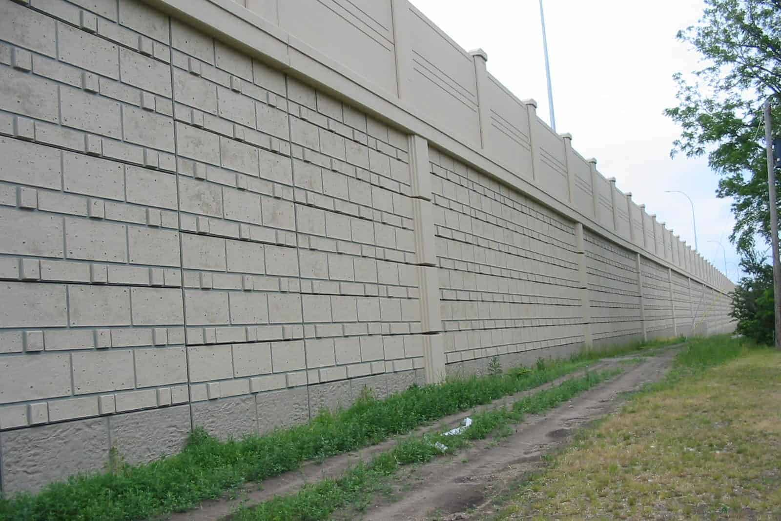 Precast Concrete Retaining Wall SSL Crosstown