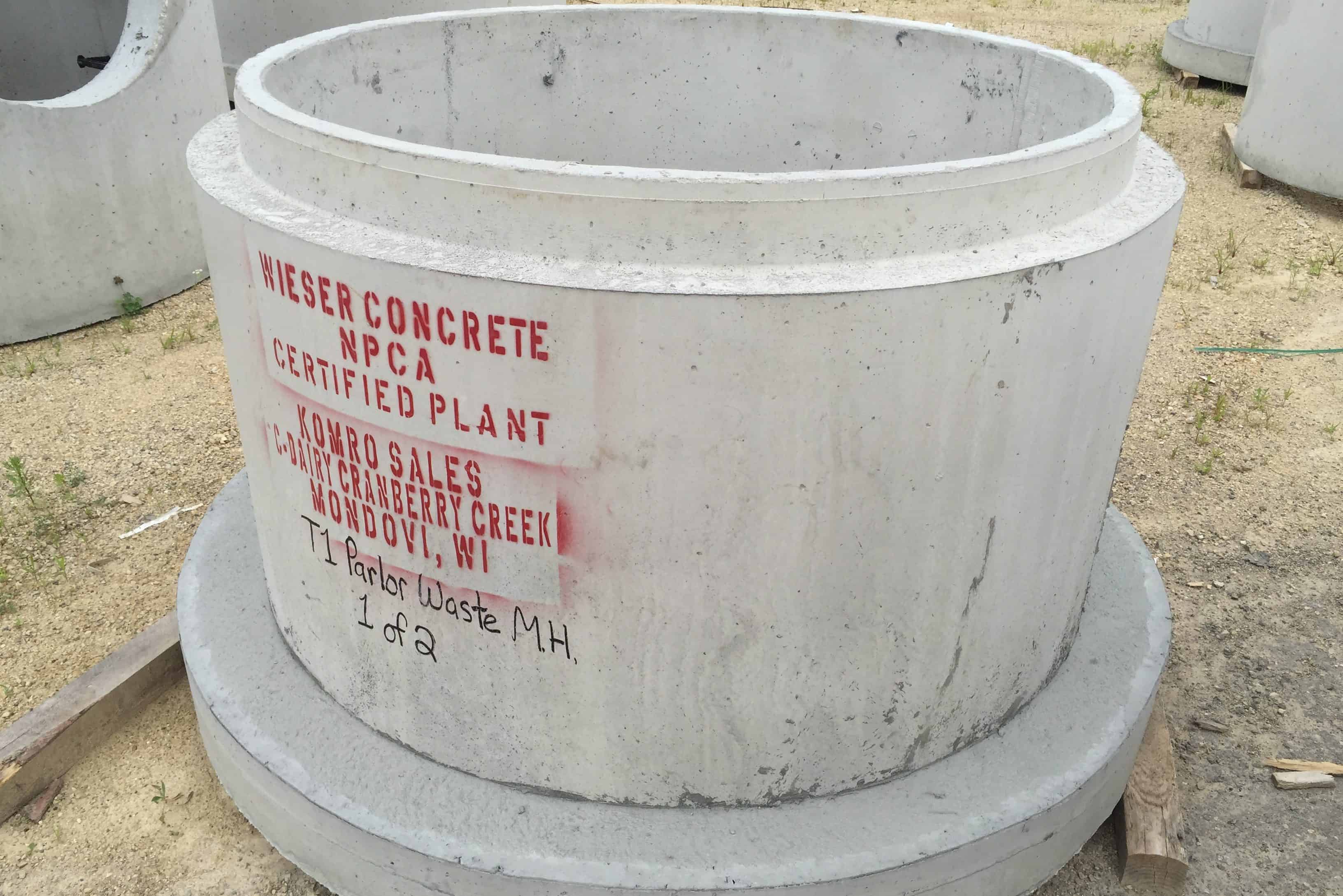 Precast Concrete Sanitary Manhole