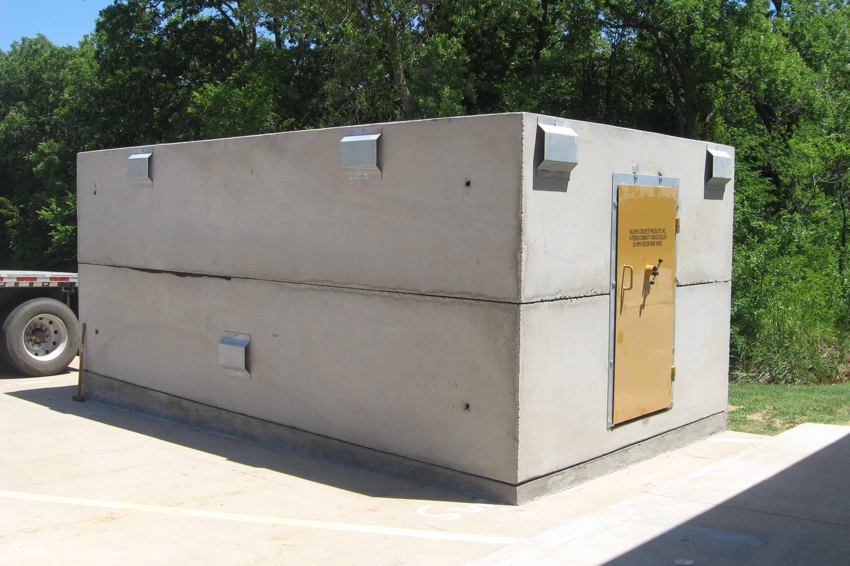 Precast Concrete Storm Shelter High Capacity 34 Person NSSA