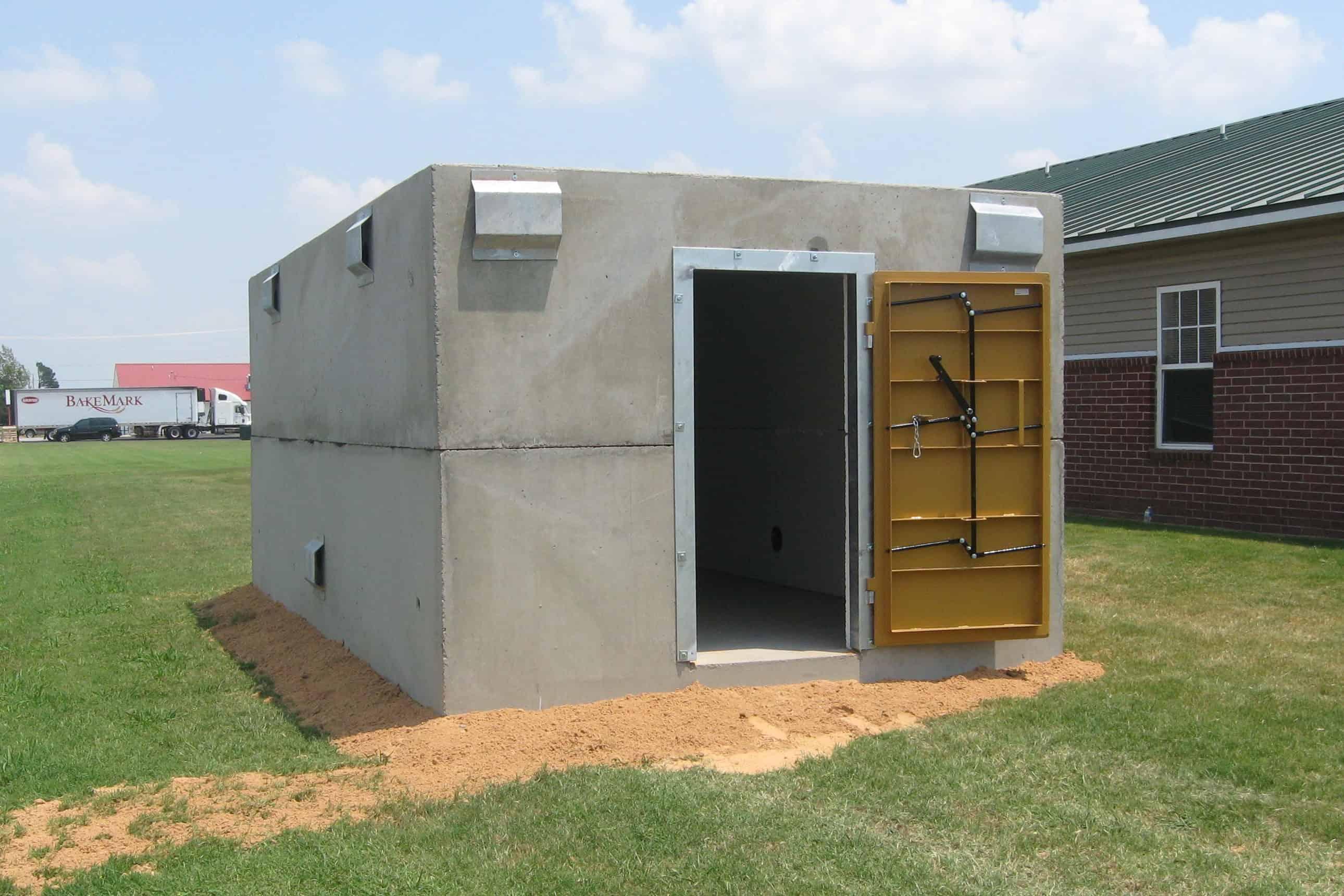 Precast Concrete Storm Shelter High Capacity