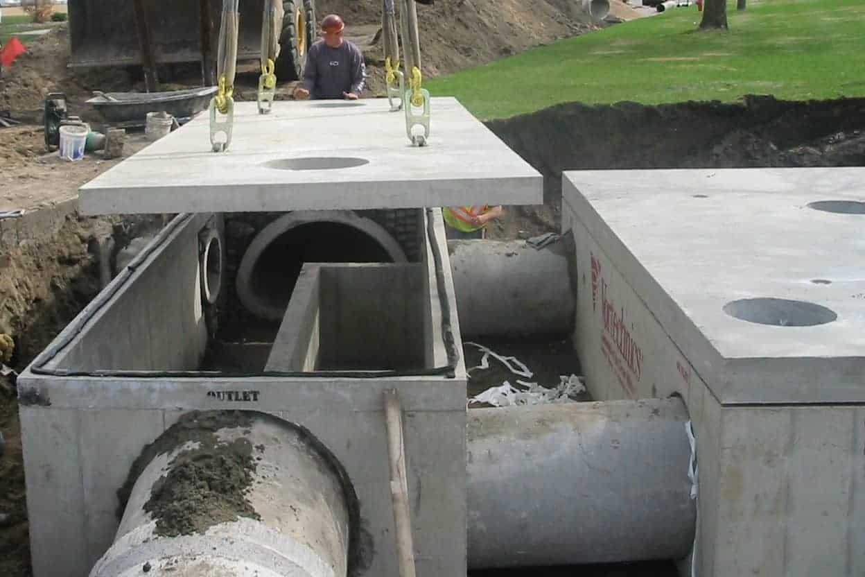 Precast Concrete Stormwater Seperator