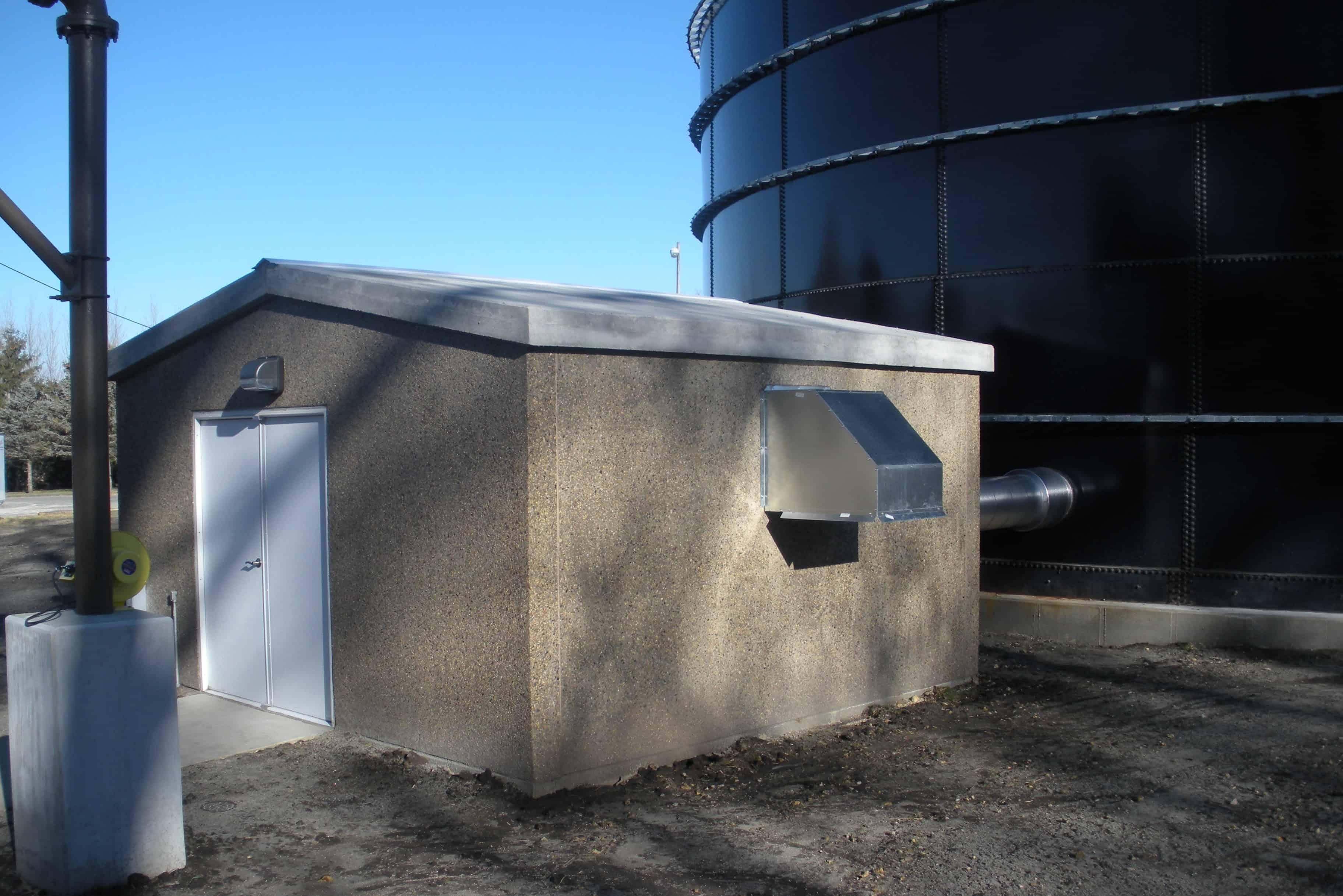 Precast Concrete Utility Building Cresco IA