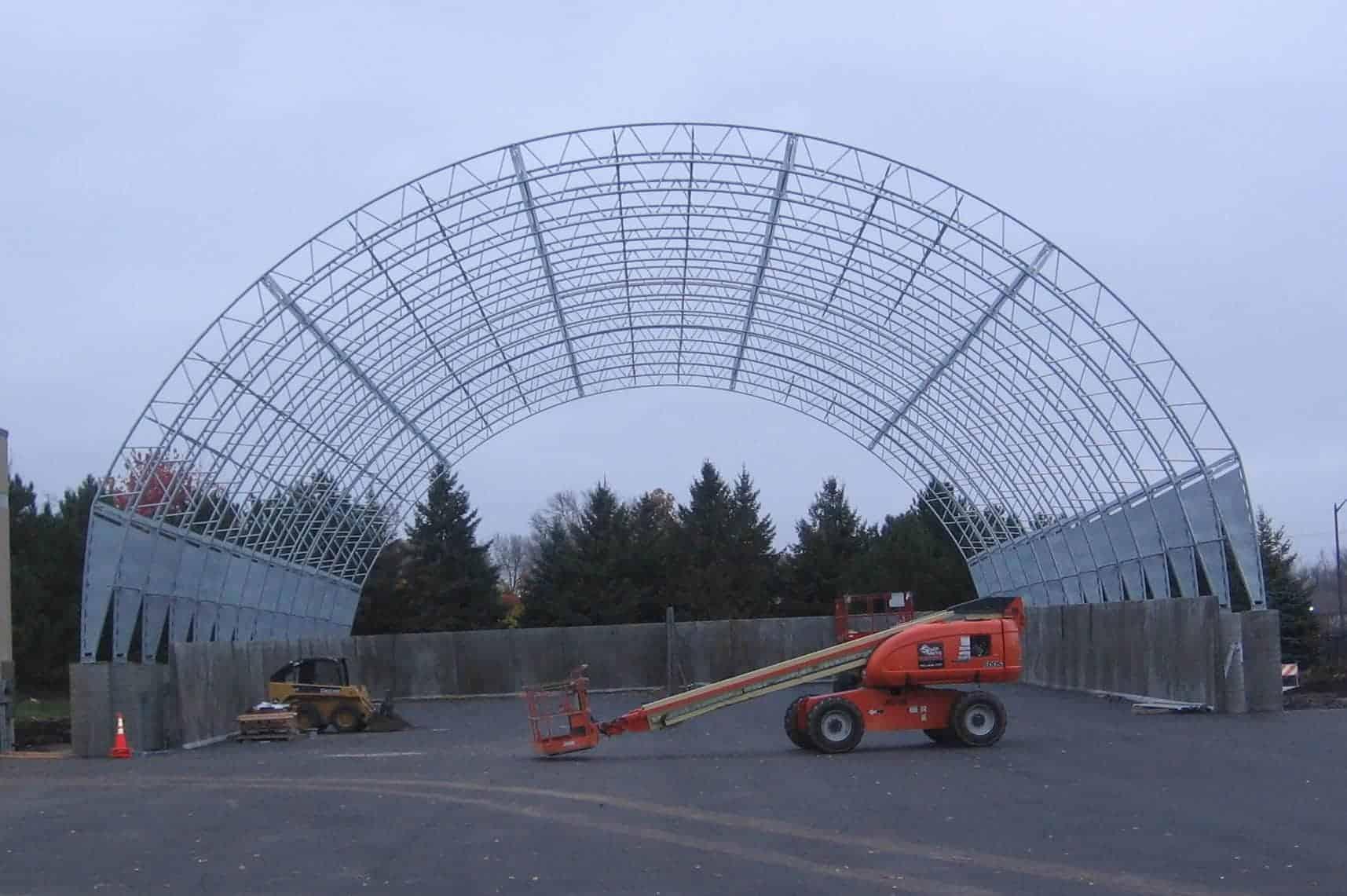 Salt Storage Precast Concrete Bunker Hoop Frame