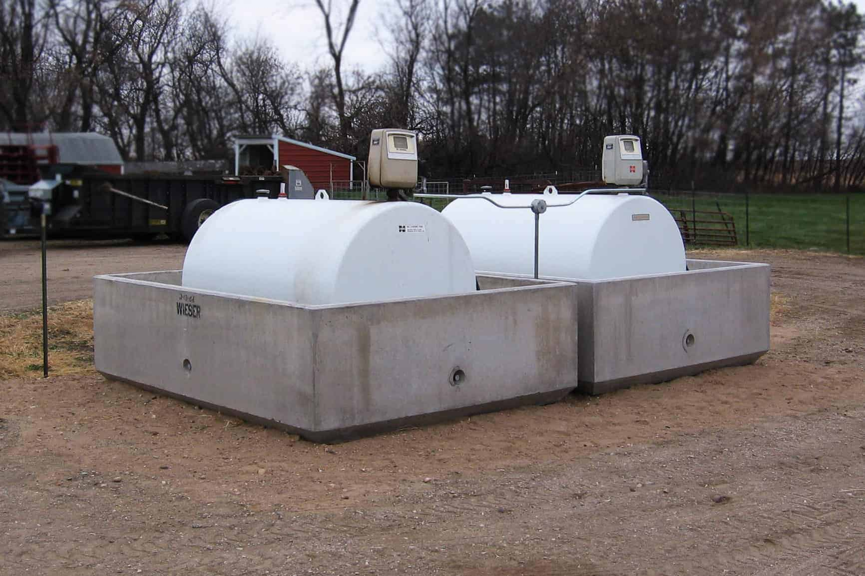 Schefer's Bros Precast Concrete Fuel Containment Vessel Pr