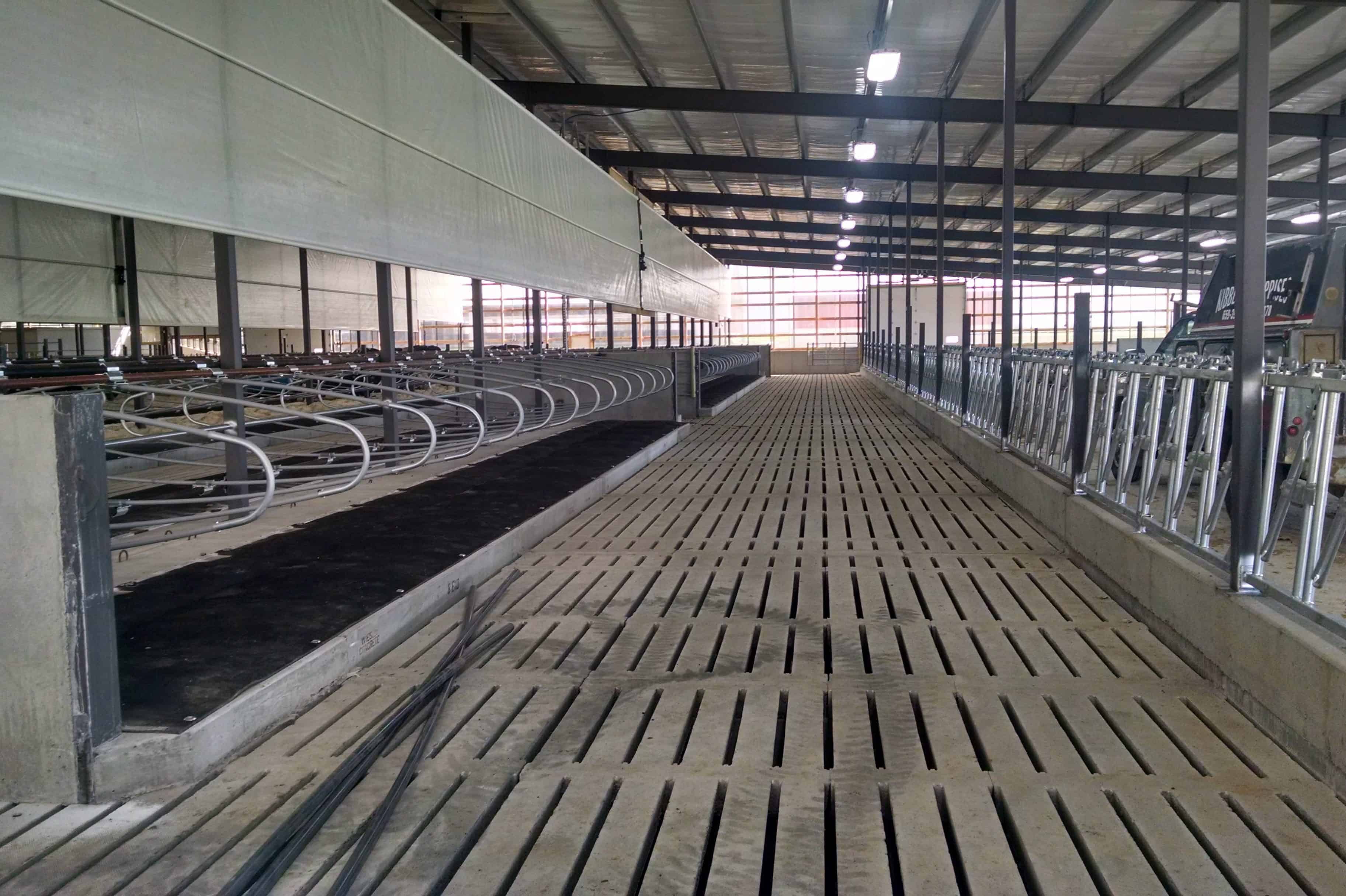 Slatted Floor Manure Storage Dairy Stalls Rem Jem Precast Concrete