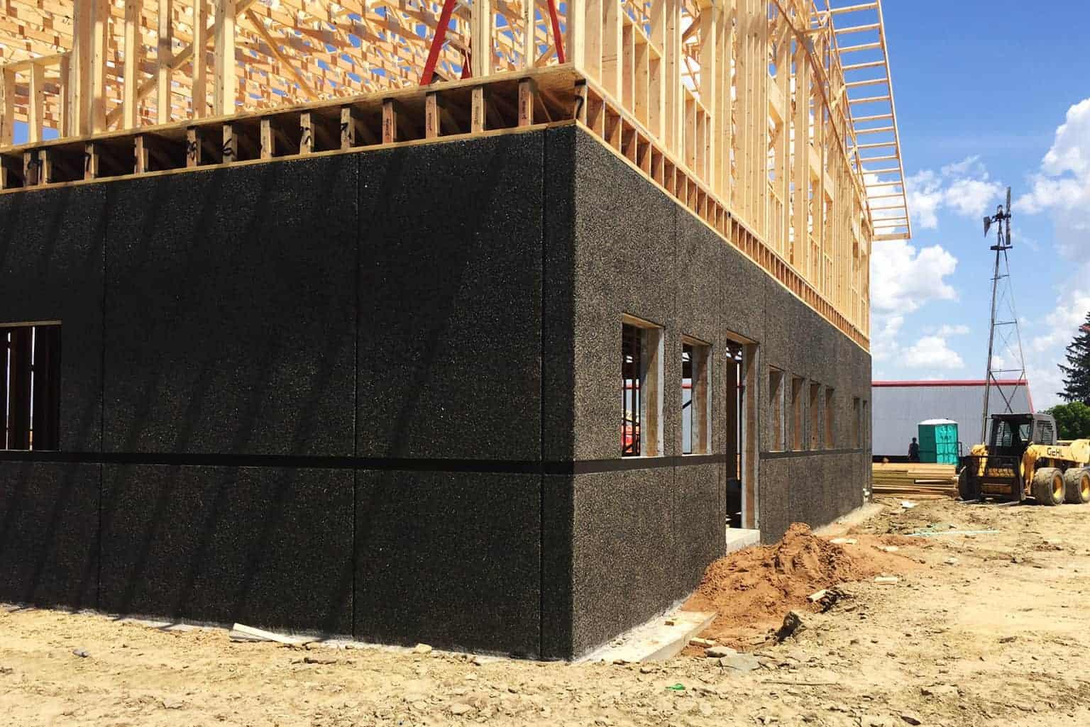 Weiss Farms Rotary Parlor Precast Concrete Building