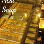 Birds Nest Soup Malacca