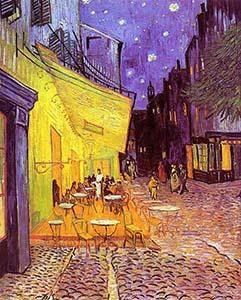 Van Gogh - Cafeterrasse am Abend