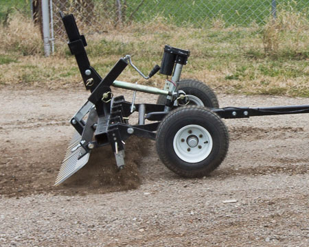 How to Grade A Driveway With an ATV/UTV or Lawn Mower Attachment