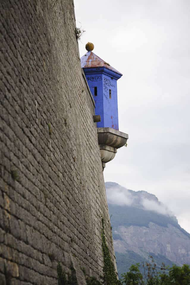 photo numérique nikon d700 Bastille à Grenoble