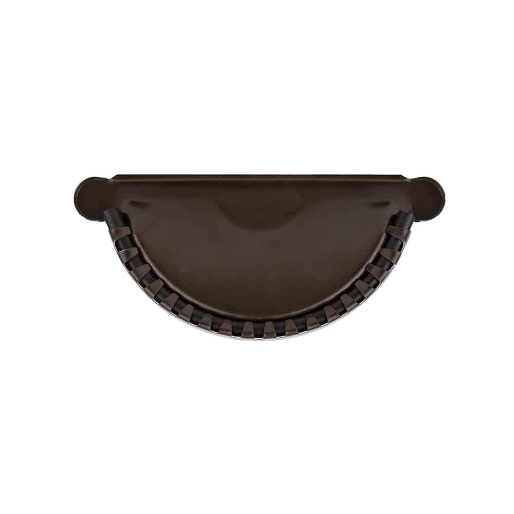 Заглушка темно-коричневая 125/87 – Фото 1