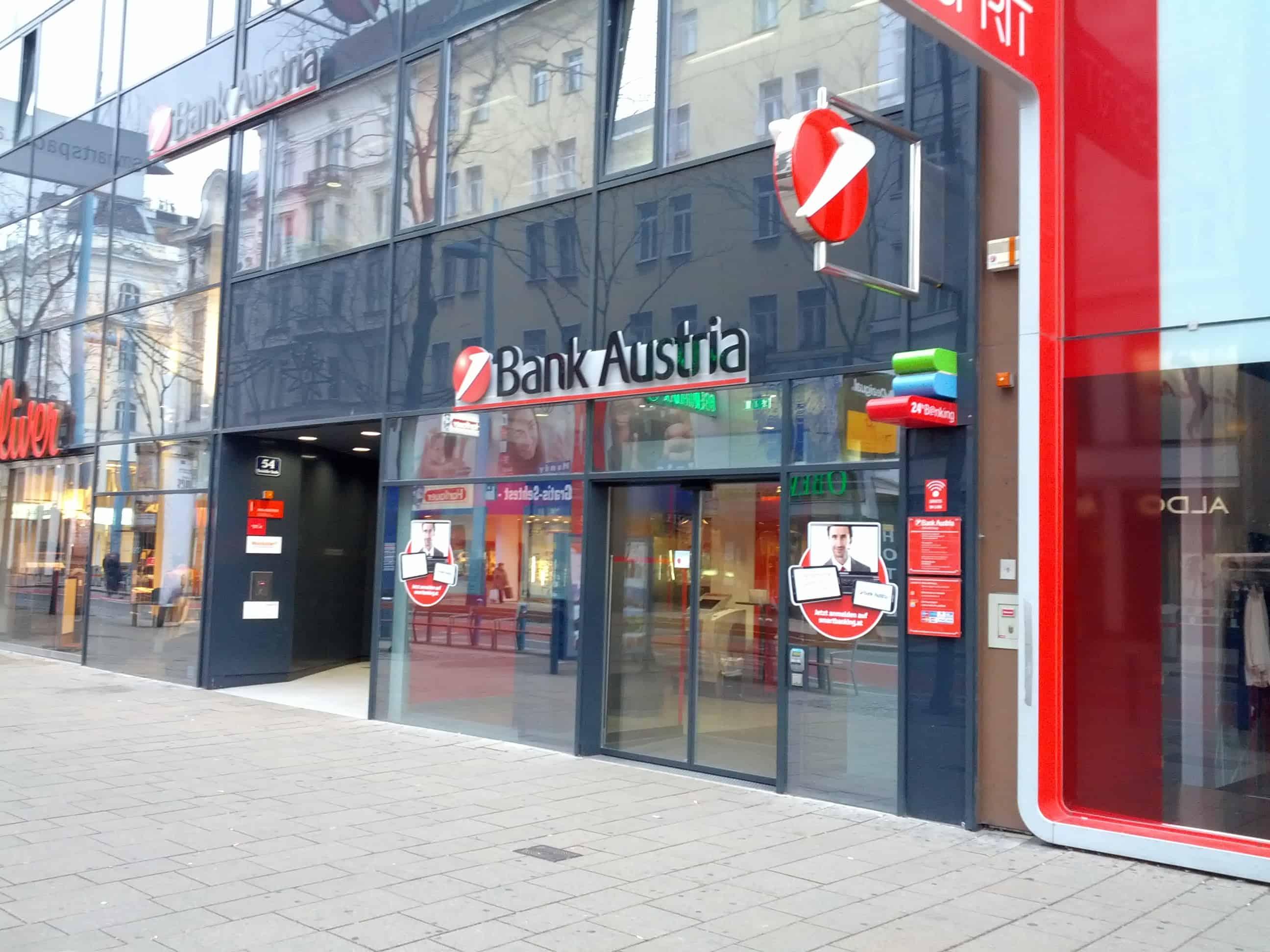 UniCredit Bank Austria AG Fil. Mariahilfer Straße (Stadtdirektion Mitte-West)