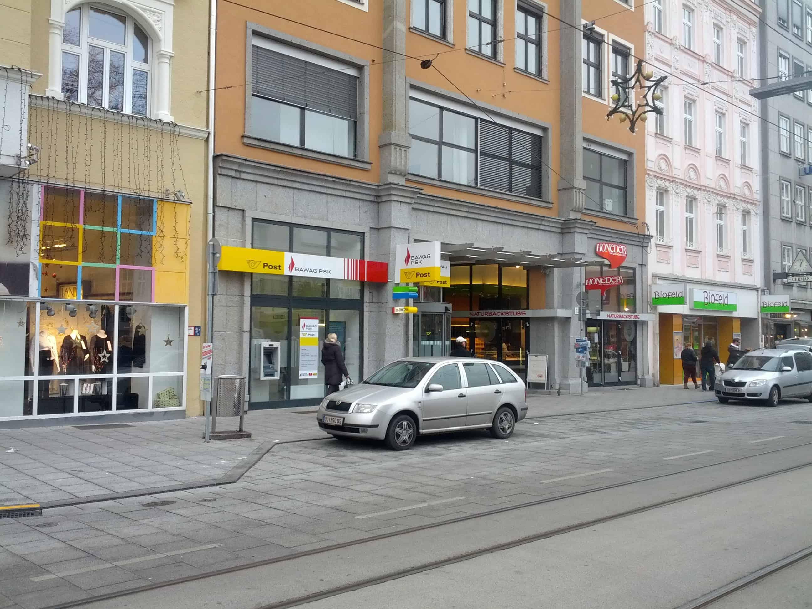 BAWAG P. S. K. Bank für Arbeit und Wirtschaft und Österreichische Postsparkasse AG Zws. Linz-Landstraße