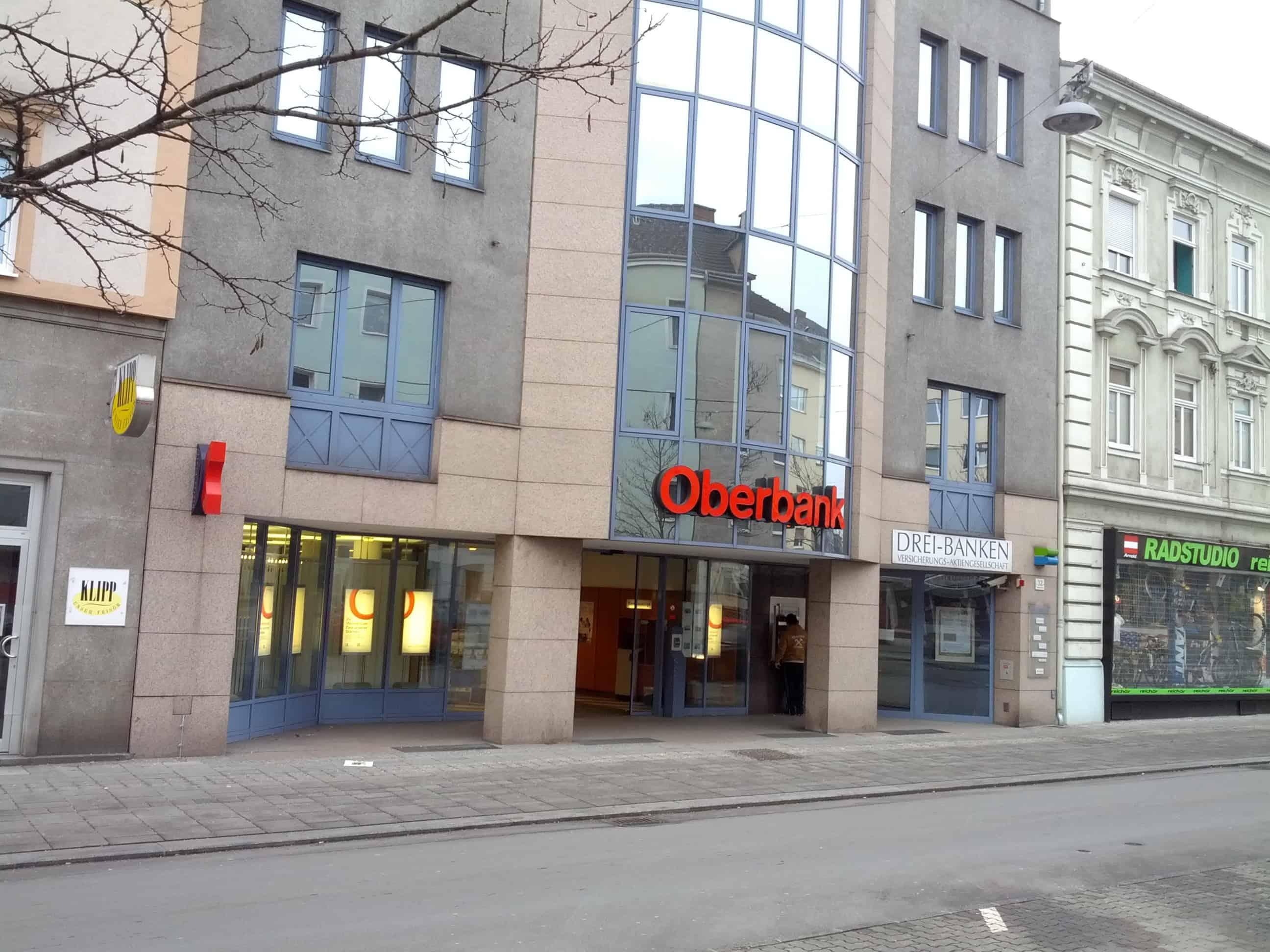 Oberbank AG Zws. Linz-Wiener Straße