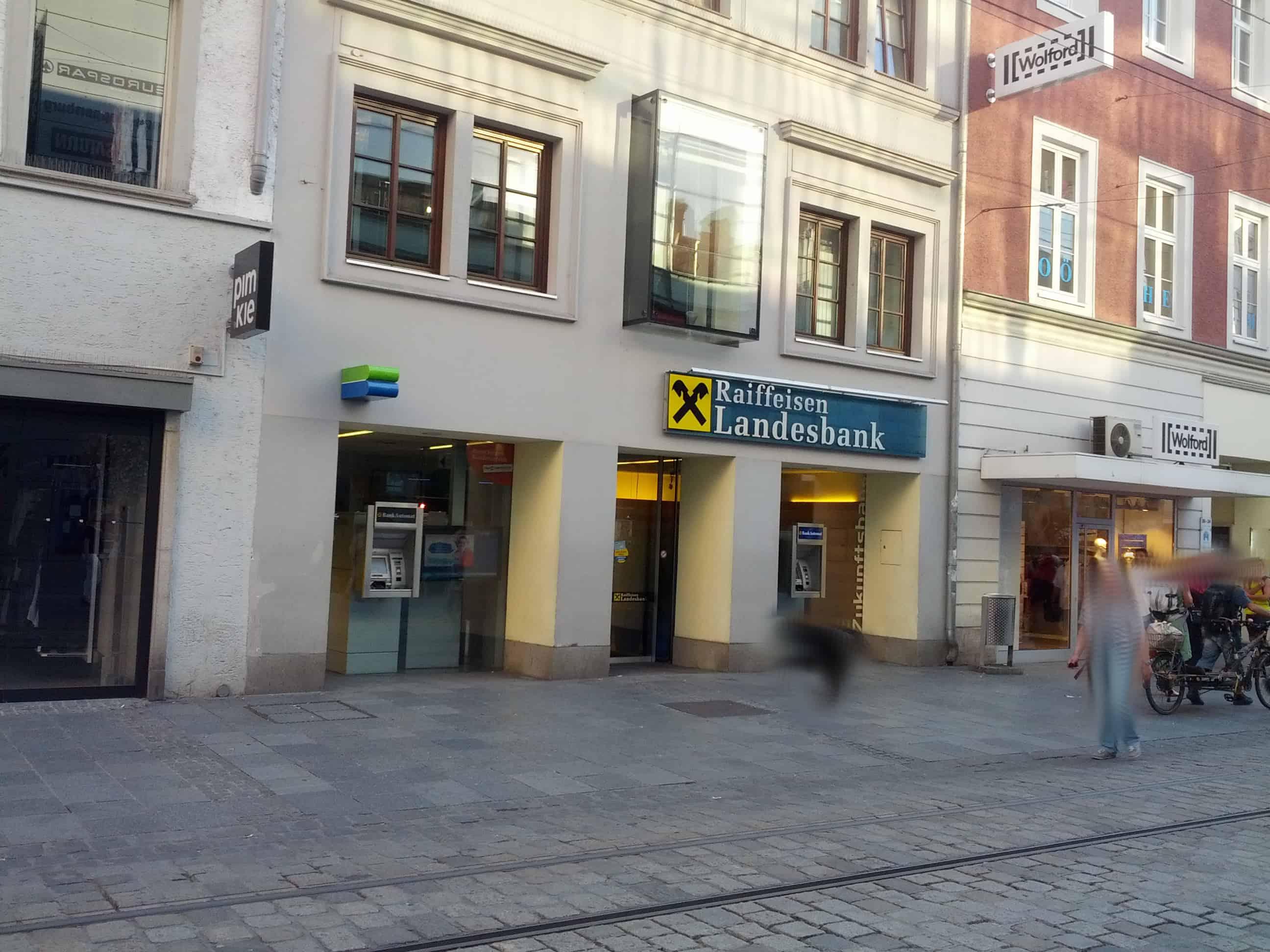 Raiffeisenlandesbank Oberösterreich AG Zws. Landstraße