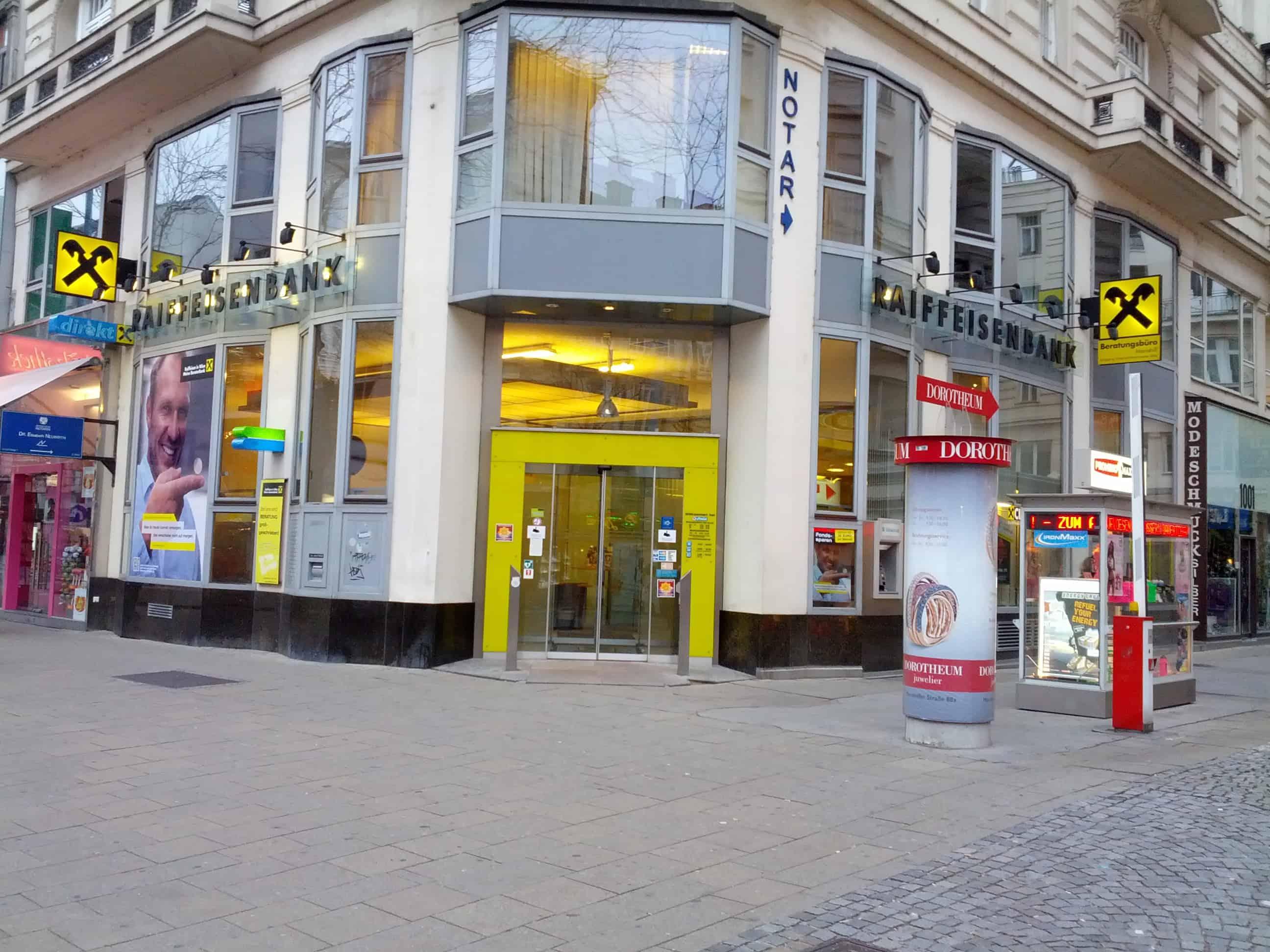 RAIFFEISENLANDESBANK NIEDERÖSTERREICH-WIEN AG Zws. Mariahilfer Straße