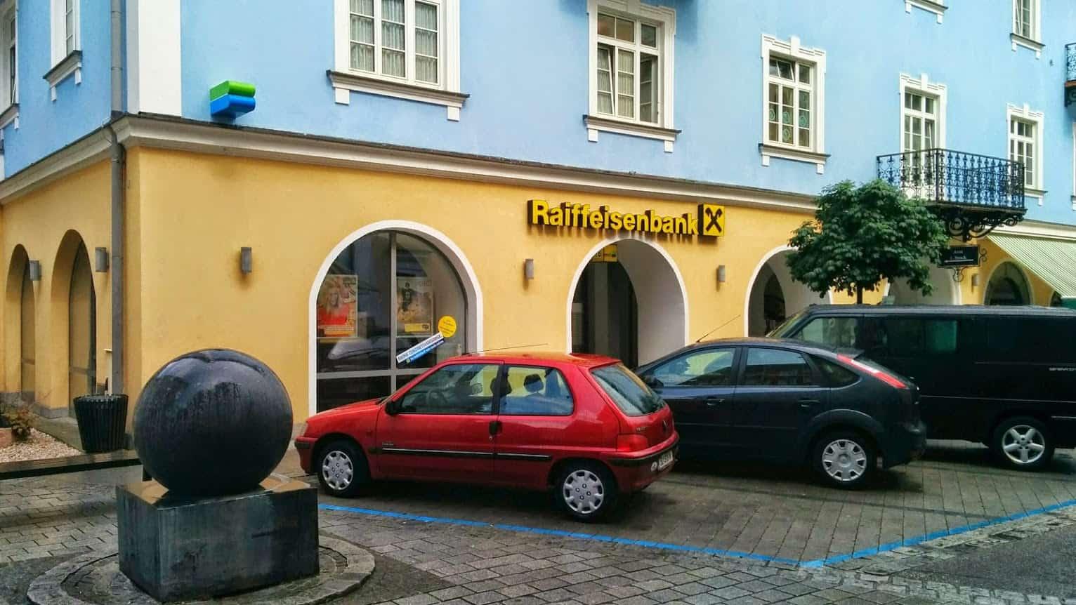 Raiffeisenbank Inneres Salzkammergut reg. Gen. m. b. H. Bst. St. Wolfgang