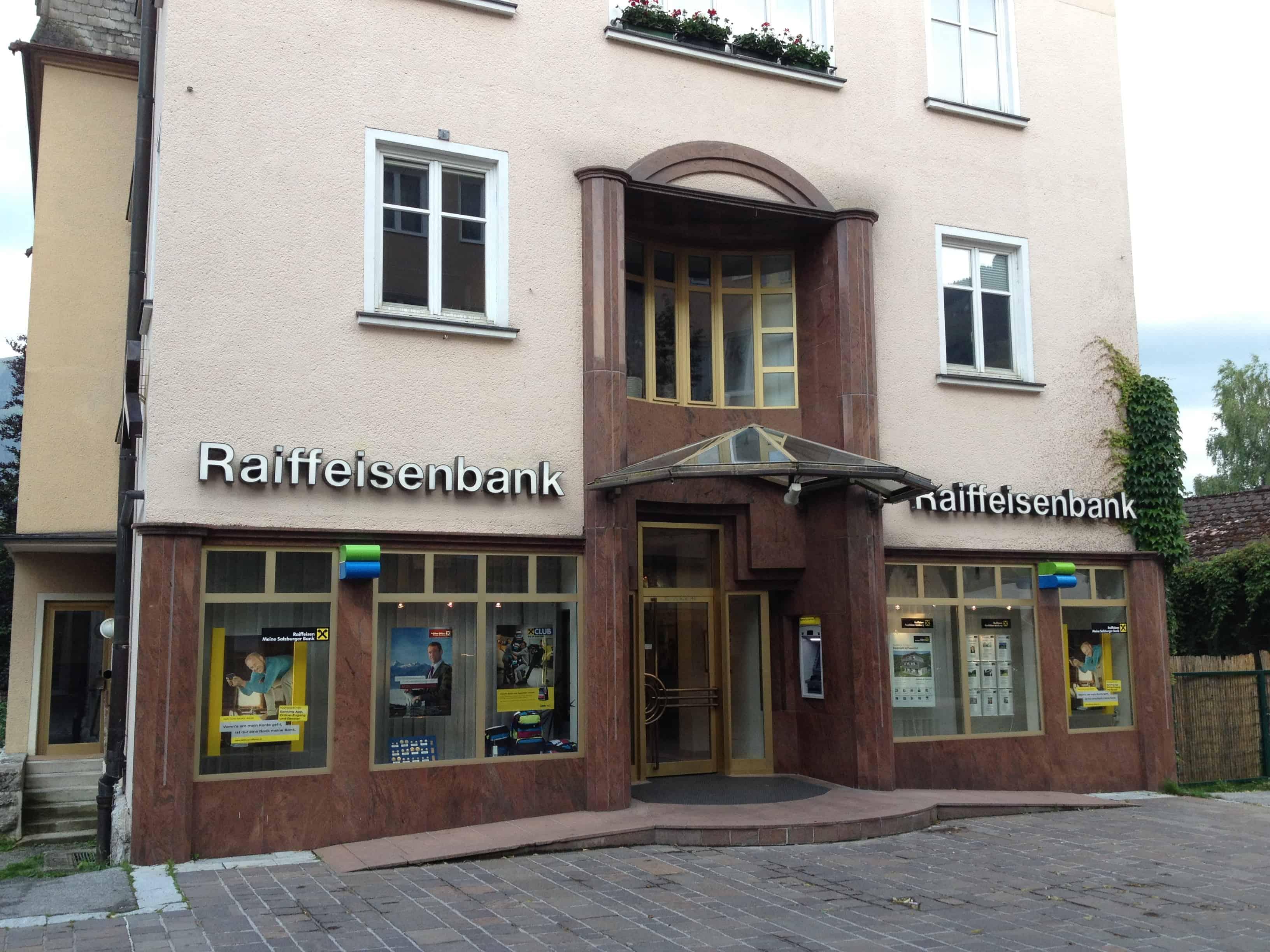 Raiffeisenverband Salzburg reg. Gen. m. b. H. Fil. Zell am See