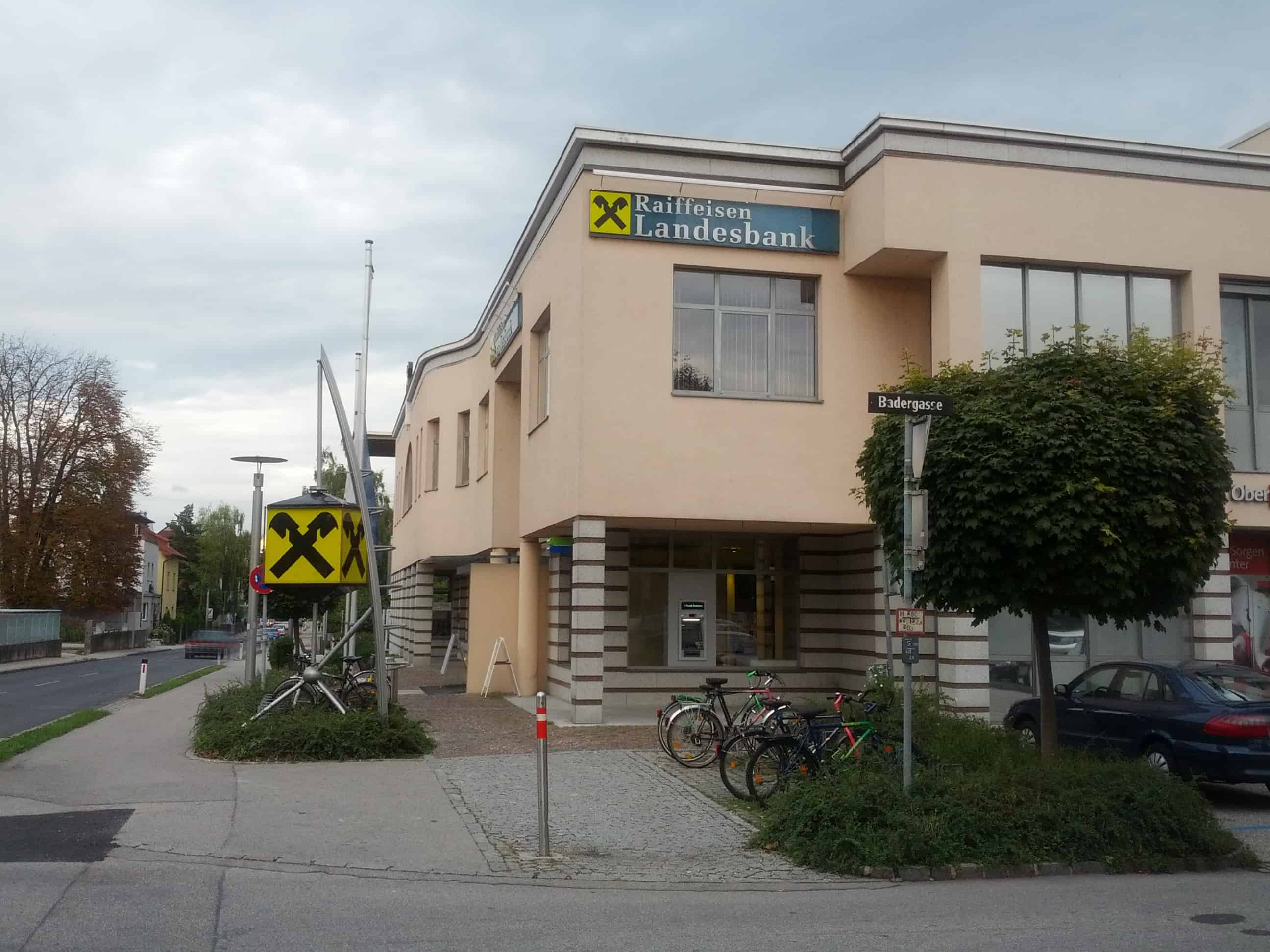 Raiffeisenlandesbank Oberösterreich AG Zws. KompetenzCenter Traun