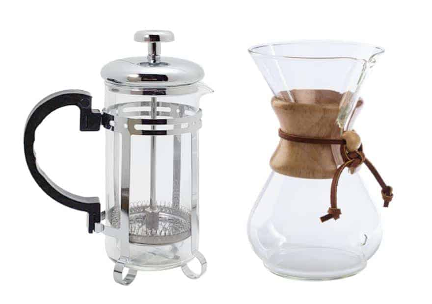 French press or Chemex: Which brewing method is for you?