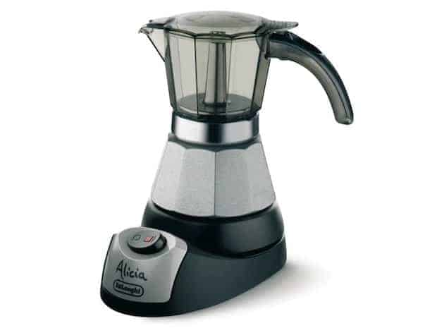 DELONGHI EMK6 Espresso, 6 cups, Stainless Steel