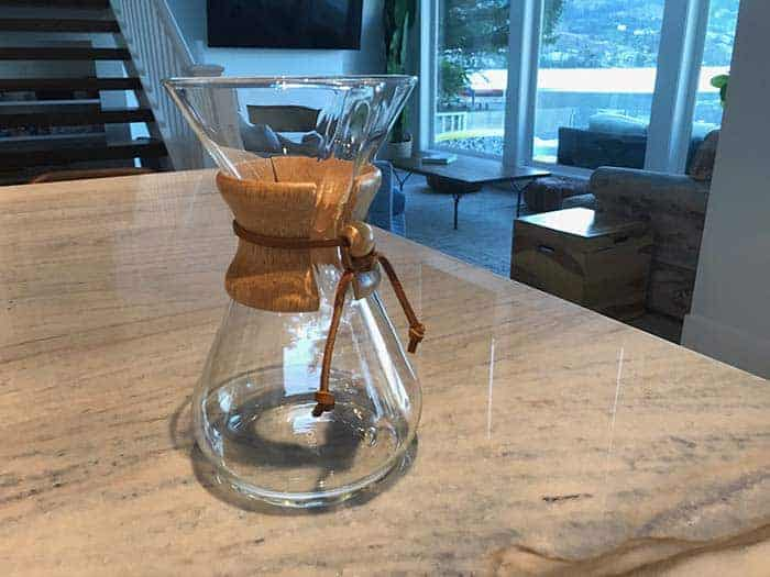 A guide to cleaning your Chemex