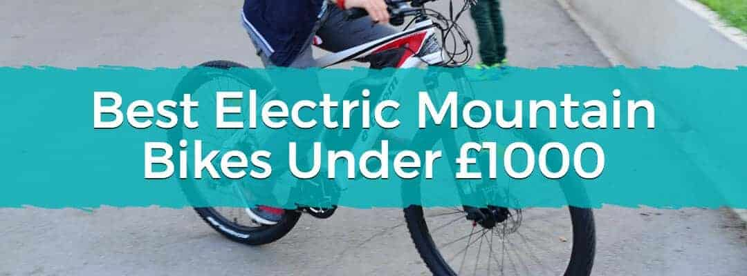Best Electric Mountain Bikes Under £1000 Featured Image