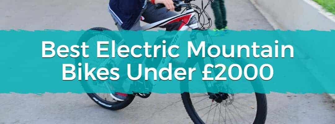 Best Electric Mountain Bikes Under £2000 Featured Image