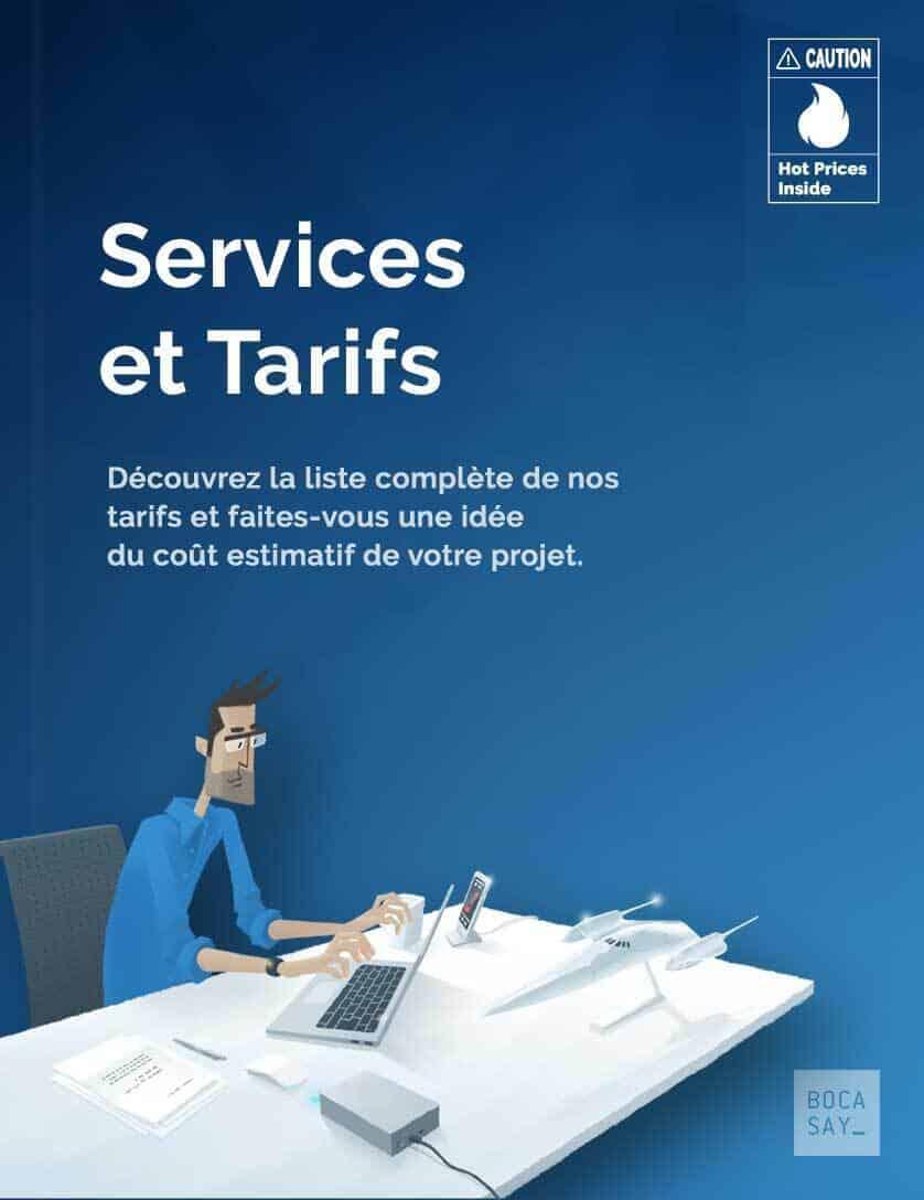 Services et tarifs