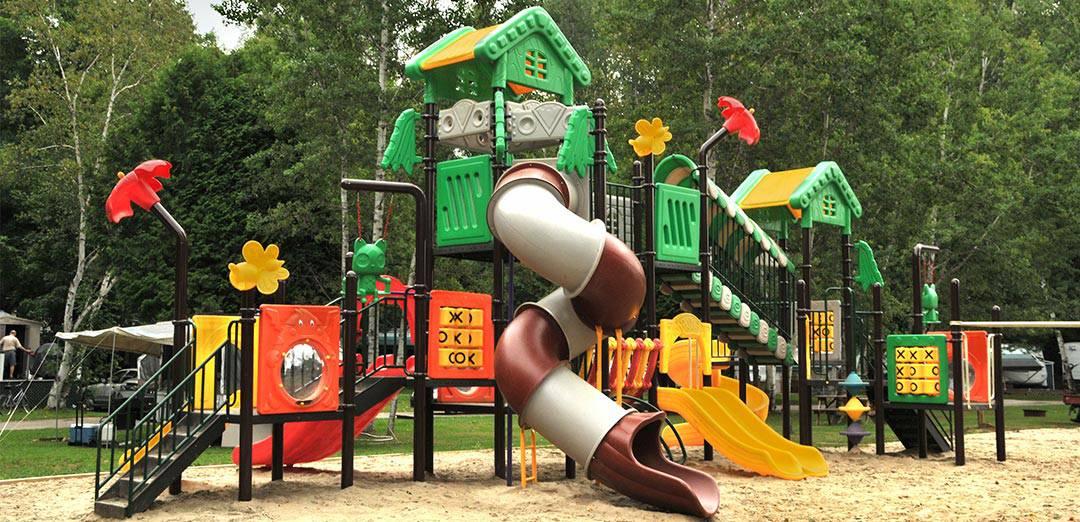Camping Union Chute aux Iroquois activité jeux pour enfants