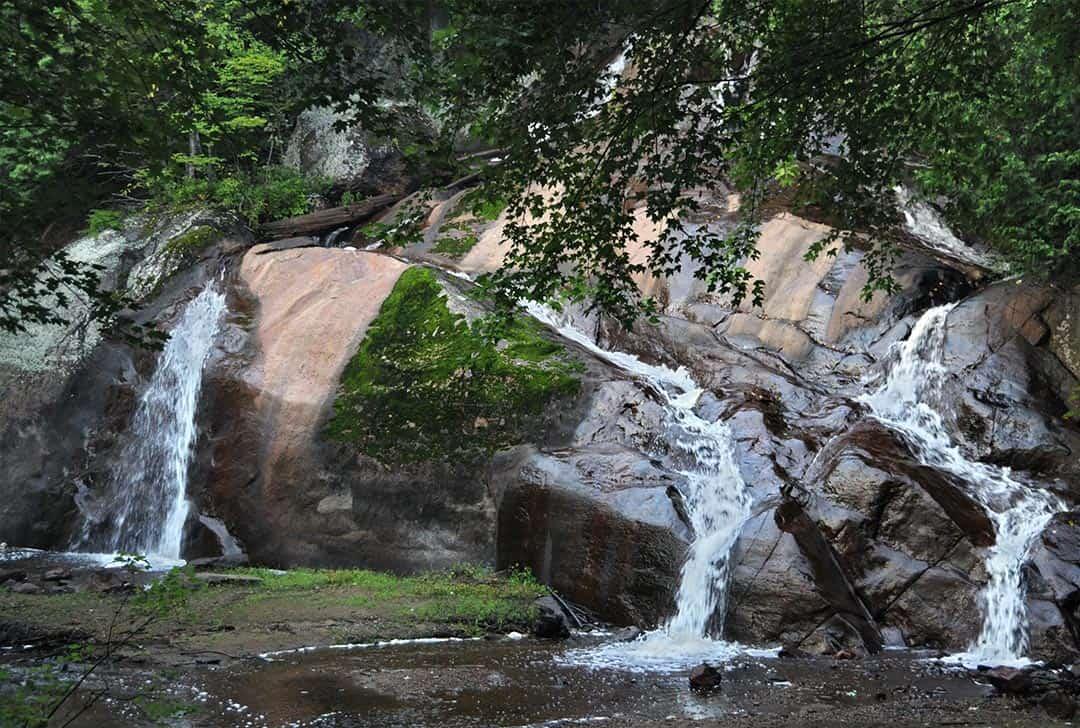 Camping Union Chute aux Iroquois chute naturelle