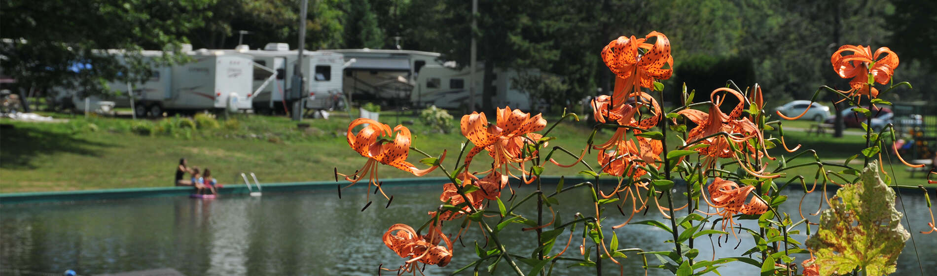 Welcome to camping Lac-Saint-Michel located in Mauricie