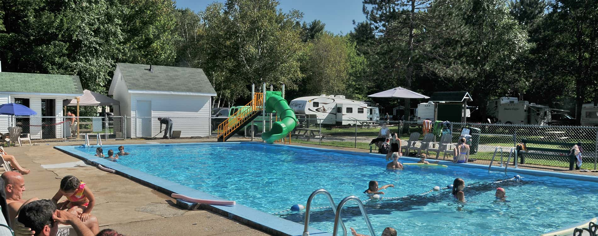 Quoi faire au Camping Lac-Saint-Michel, activités extérieures et intérieures pour tous