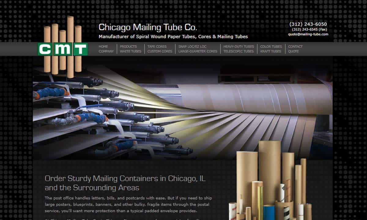 Chicago Mailing Tube
