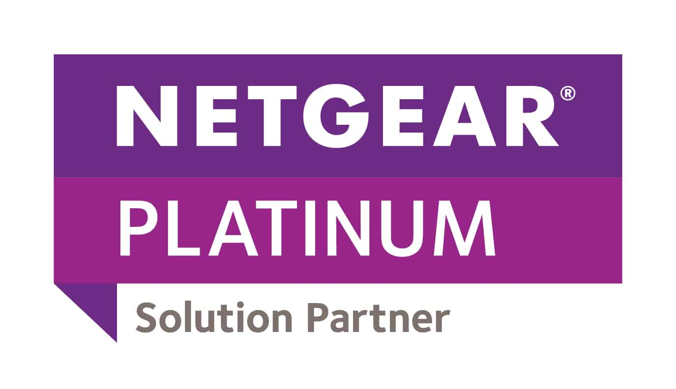 Netgear Platinum Solution Partner logo