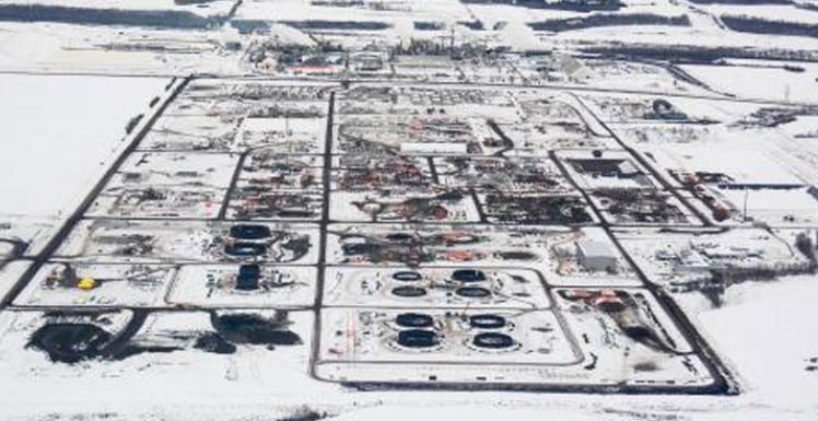 sturgeon refinery aerial view